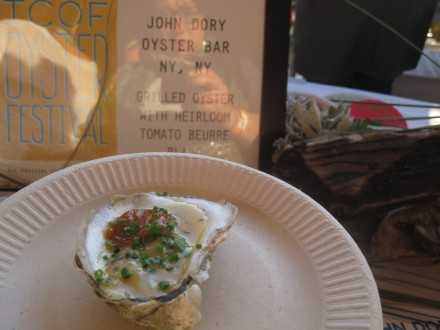 john dory oyster bar at island creek oyster festival 2011